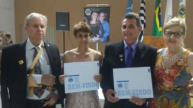 CL Edvandro Aparecido de Souza e CaL Andréa Cristina da Silva esposa
